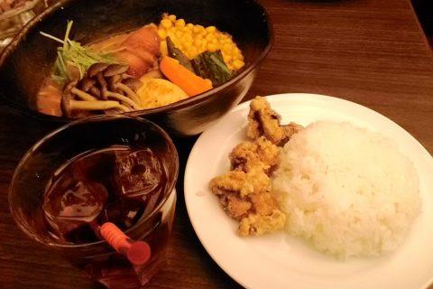 「hirihiri」でトッピング盛りだくさんなスープカレーを食べてみた