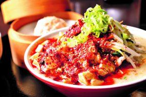 「大豚白麻婆麺(マーボータンメン)」を食べてみた
