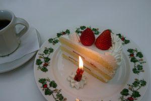 誕生日に六花亭の喫茶室へ行ってみた