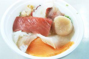 釧路勝手丼を食べてみた