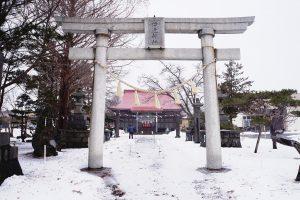 北海道で珍しい狛犬が居る!伊達神社に行ってみた